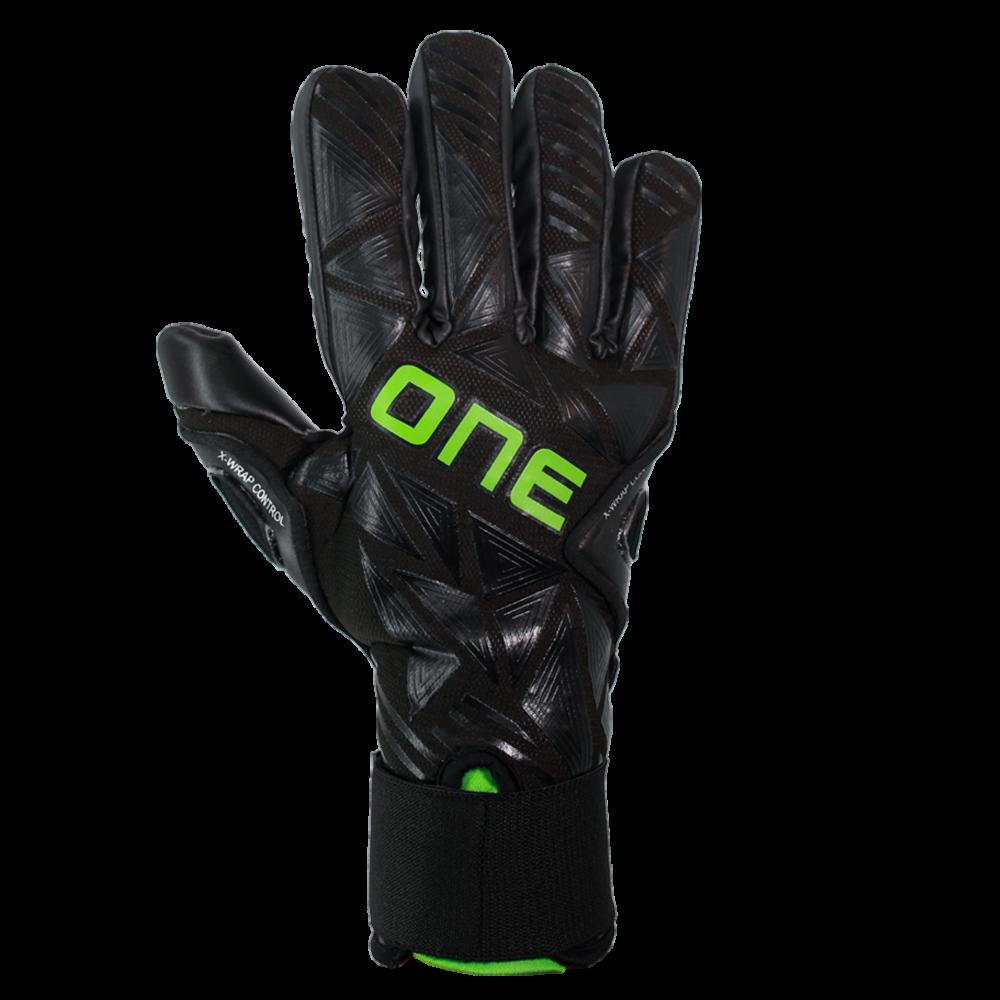 all black goalkeeper gloves