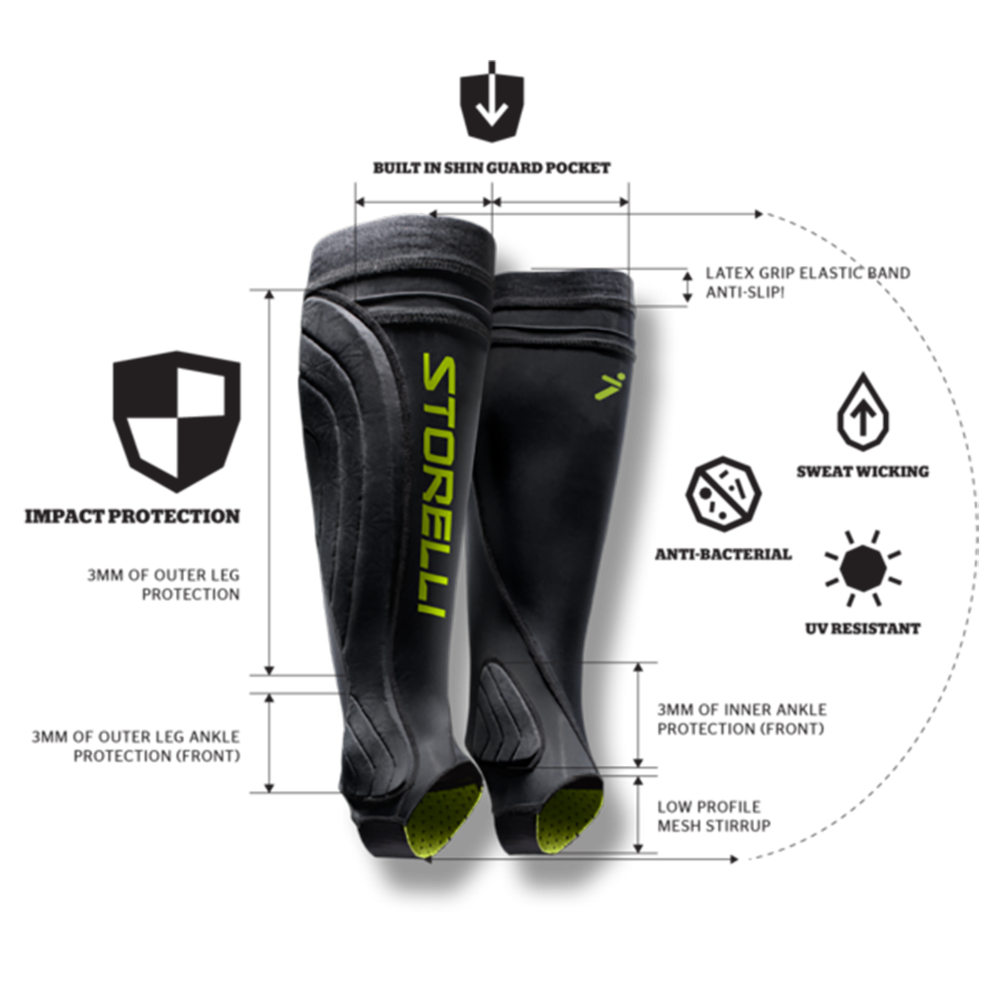 Storelli Leg Guard Specifications