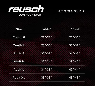 Small Reusch Alex Adult Soccer Goalie Pants New