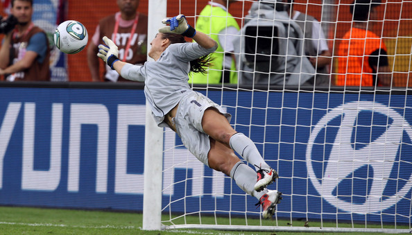 Best female goalkeeper Hope Solo