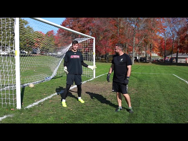Real Monarchs Goalkeeper Jimmy Slayton Pre Game Warm Up